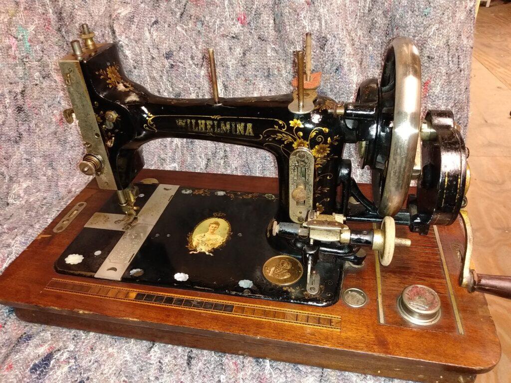 Wilhelmina sewing machine