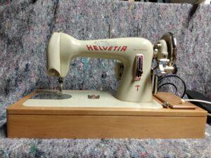 Helvetia sewing machine